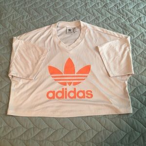 Adidas Crop Tee Jersey Style